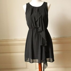 H&M Black Rufflle Dress